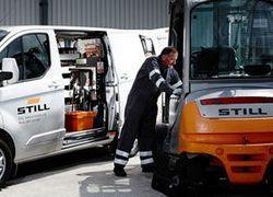 manutenção de empilhadeira a combustão