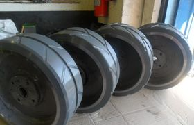 fabricante de rodas para empilhadeiras