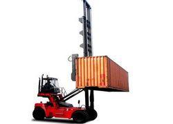 empilhadeira para descarregar container