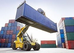 empilhadeira de container