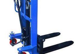 empilhadeira hidráulica de elevação e tração elétrica