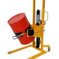 Empilhadeira manual gira tambor
