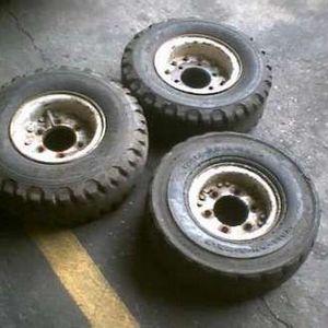 roda de empilhadeira toyota